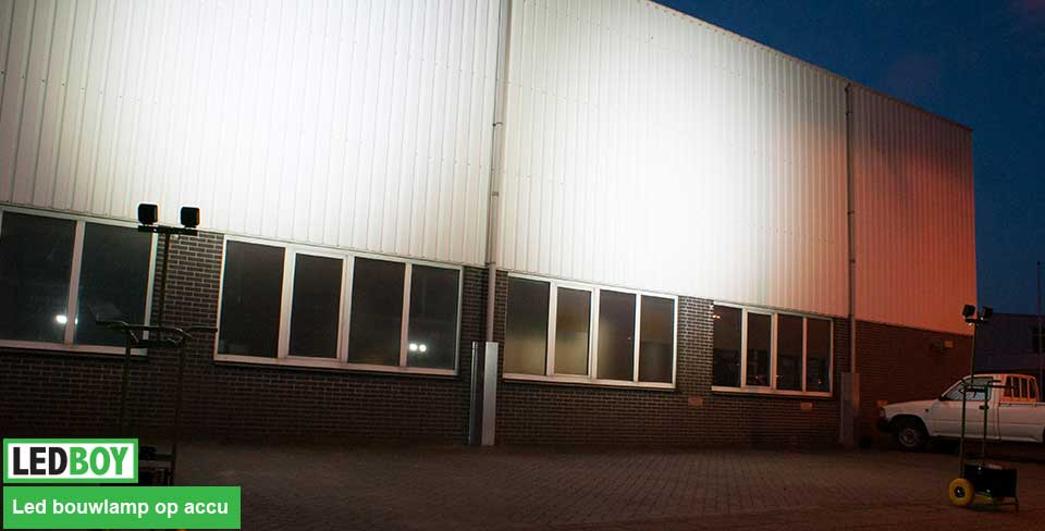 bouwlamp led gevel belichting